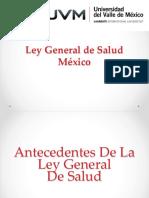 Ley General de Salud. Sintesis