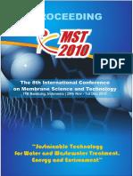 Proceeding MST 2010