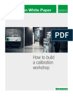 Beamex White Paper - How to Build a Calibration Workshop