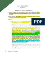 Ethics Part 1 -4 Notes