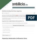 Gentilicio de Buenos Aires