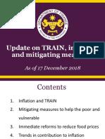 TRAIN update