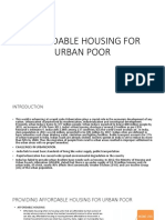 AFFORDABLE HOUSING FOR URBAN POOR ppt.pptx