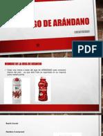 Exposicion de Jugo de Arandano