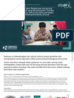 ISF-UTS 2016 Local-scaleSanitationIndonesia Guidance-Material PPT Bahasa