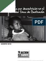 Informe de mortalidad y desnutrición en Corredor Seco