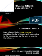 Contextualized Online Search and Research Skills - Lesson 3