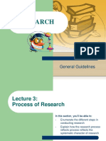Lecture 3- Research Process
