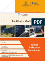 FG SSCQ0508 Junior Software Developer 20.07.2018