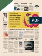 I titoli del giornali nella rassegna stampa del 2 dicembre 2019