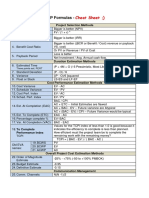 PMP Formulas - Cheat Sheet v0.6