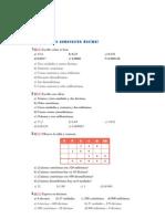 Matematicas Resueltos (Soluciones) Numeros Décimales 1º ESO 2ª Parte