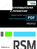 RSM Constructions & Interiors Profile - Latest