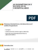 Sistemas dosimétricos Radioterapia