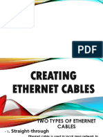 Creating Ethernet Cables