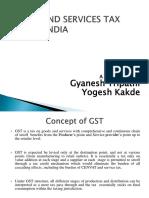 GST PPT FE Yogesh and Gyanesh