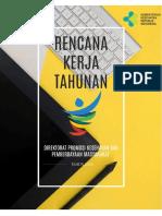 Rencana Kerja Tahunan Direktorat Promkes dan Pemberdayaan Masyarakat Tahun 2018