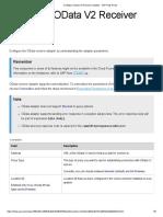 Configure OData V2 Receiver Adapter - SAP Help Portal