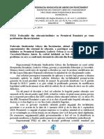 COMUNICAT de PRESA FSLI Federatiile Din Educatie Cer Noului Guvern Rezolvarea Problemelor Din Invatamant (2)