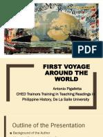 First Voyage of Pigeffeta
