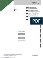 Haier AD182MMERA Operation Manual