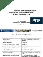 Encuesta Nacional Subtel09 Prensa