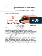 Company Registration Types in India Doc-converted