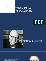 PERSONALIDAD G ALLPORT