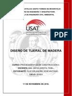 Diseño de Tijerales de Madera - Orlandini
