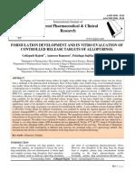 Allopurinol Paper