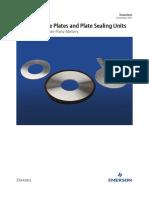 Orifice Plates and Plate Sealing