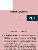 Operating Systems by YUTIKA
