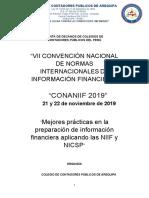 Reglamento CONANIIF 2019