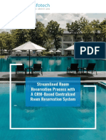 Room Reservation System for Hospitality Service Providers - Microsoft Dynamics Consulting