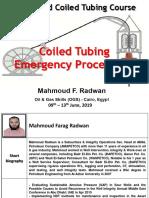 Coiled Tubing Emergency Procedures