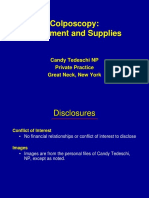 02. Colposcopy Equipment and Supplies_Tedeschi