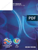 Entry manual AFC  CUP