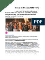 La Independencia de México (1810-1821)