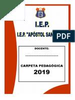 Carpeta Pedagógica 2019 - Ok (Autoguardado)