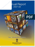 Annual Report(2007-08)- Ministry of Power