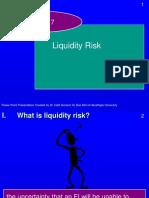 Risk Liquidity