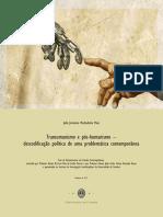 Transumanismo e Pos Humanismo