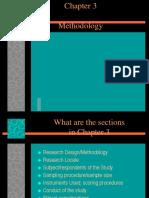 3 Chapter 3. Methodology Ppt