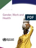 Gender Work & Health