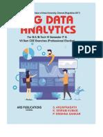 Big Data Analytics for R-2017 by ArunPrasath S., Sriram Kumar K., Krishna Sankar P.