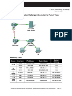 Packet Tracer Directions