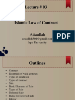 Lec 03- Islamic Law of Contract -.pptx