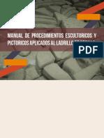 Manual de procedimientos escultorios y pictoricos apliados al ladrillo de arcilla.pdf