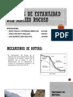 Análisis de Estabilidad Del Macizo Rocoso