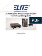 ELITE BATD simulator manual